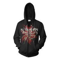 Kataklysm - Push The Venom (Zipped Hooded Sweatshirt)