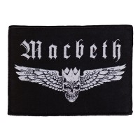 Macbeth - Wings Logo (Patch)