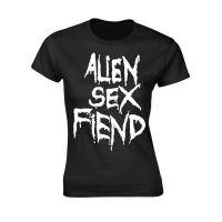 Alien Sex Fiend - Logo (Girls T-Shirt)
