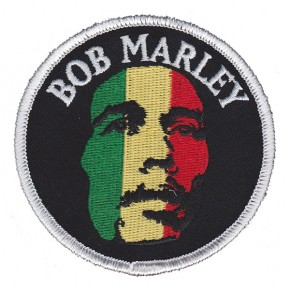Marley, Bob - Face Embroidered (Patch)