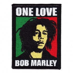 Marley, Bob - One Love Embroidered (Patch)