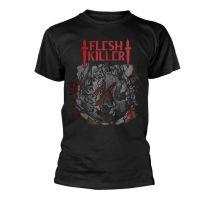 Fleshkiller - Red Logo (T-Shirt)