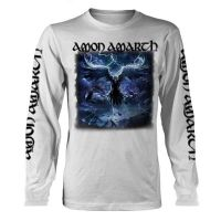 Amon Amarth - Raven's Flight White (Long Sleeve T-Shirt)