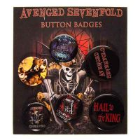 Avenged Sevenfold - Hail To The King (Badge Pack)