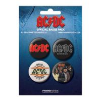 ACDC - Albums (Badge Pack)