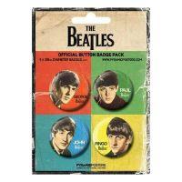 Beatles - Retro (Badge Pack)
