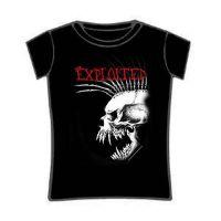 Exploited - Bastard Skull (Girls T-Shirt)