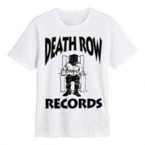 Death Row Records - Logo White (T-Shirt)