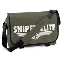 Sniper Elite - White Logo (Messenger Bag)