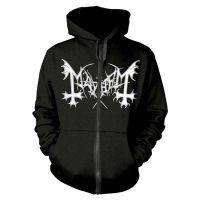 Mayhem - De Mysteriis Dom Sathanas (Zipped Hooded Sweatshirt)