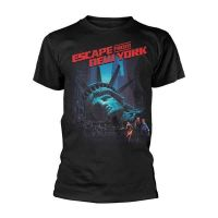 Escape From New York - Movie Poster Black (T-Shirt)