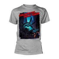 Escape From New York - Movie Poster Grey (T-Shirt)