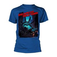 Escape From New York - Movie Poster Royal Blue (T-Shirt)