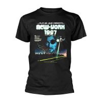 Escape From New York - French Movie Poster Black (T-Shirt)