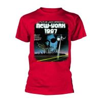 Escape From New York - French Movie Poster Red (T-Shirt)