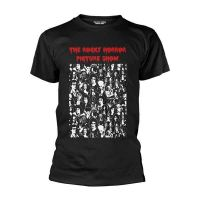 Rocky Horror Picture Show - Block Characters (T-Shirt)