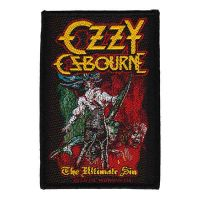 Ozzy Osbourne - The Ultimate Sin (Patch)