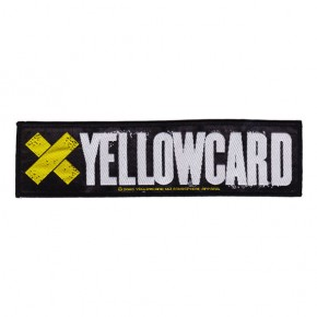 Yellowcard - Logo (Superstrip Patch)