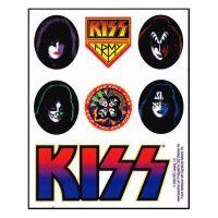 Kiss - Mini Sticker Set (Sticker)