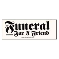 Funeral For A Friend - Logo (Sticker)