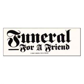 Funeral For A Friend - Logo (Sticker)