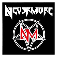 Nevermore - Logo (Sticker)