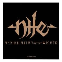 Nile - Annihilation Of The Wicked (Sticker)
