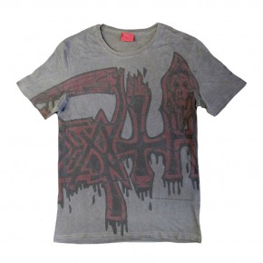 Death - Large Logo Red (T-Shirt)