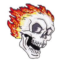 Flaming Skull (Patch)