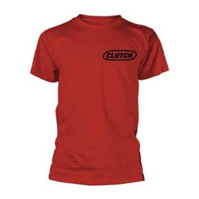 Clutch - Classic Logo Red (T-Shirt)