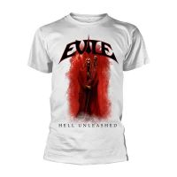 Evile - Hell Unleashed White (T-Shirt)