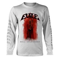 Evile - Hell Unleashed White (Long Sleeve T-Shirt)