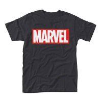 Marvel Comics - Logo Black (T-Shirt)