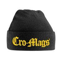 Cro-Mags - Yellow Logo (Ski Hat)