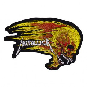 Metallica - Flaming Skull (Patch)