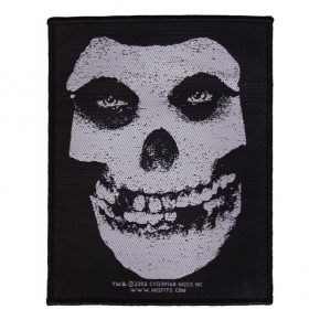 Misfits - White Skull (Patch)