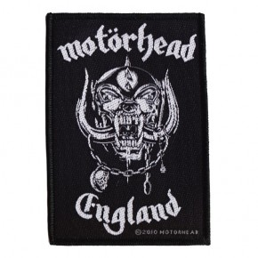 Motorhead - England (Patch)