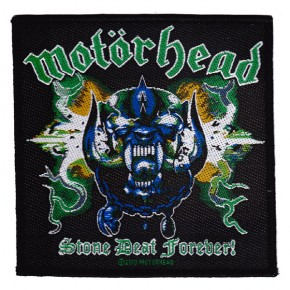 Motorhead - Stone Deaf Forever (Patch)