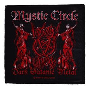 Mystic Circle - Dark Satanic Metal (Patch)