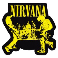 Nirvana - Band Embroidered (Patch)