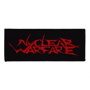 Nuclear Warfare - Logo (Patch)