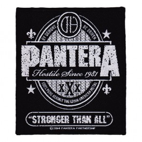 Pantera - Stronger Than All (Patch)