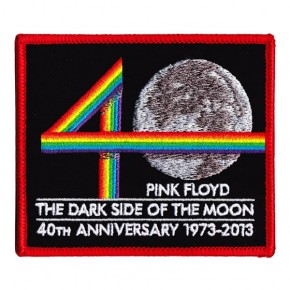 Pink Floyd - Embroidered DSOTM 40th Anniversary (Patch)
