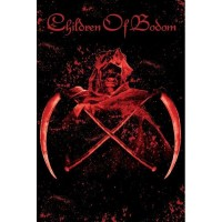 Children Of Bodom - Crossed Scythes (Textile Poster)
