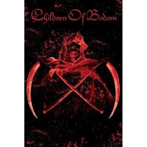 Children Of Bodom - Crossed Scythes (Textile Poster)