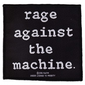 Rage Against The Machine - Text Logo (Patch)