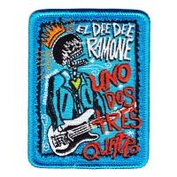 Ramones - Uno Dos Tres Quatro Embroidered (Patch)