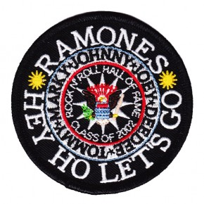 Ramones - Seal Embroidered (Patch)