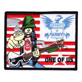 Ramones - Johnny Army Embroidered (Patch)