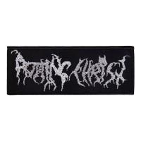 Rotting Christ - Silver Logo (Patch)